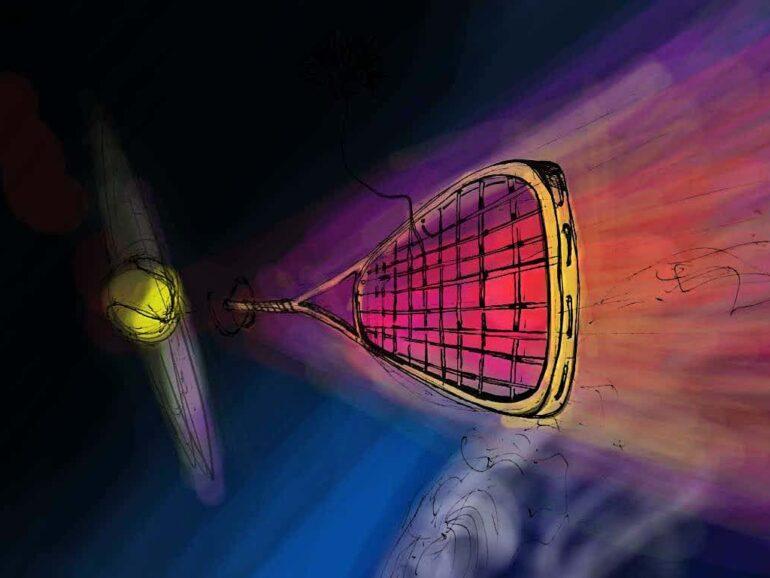 """Projekt """"Drugie życia rakiety"""". 🎾"""