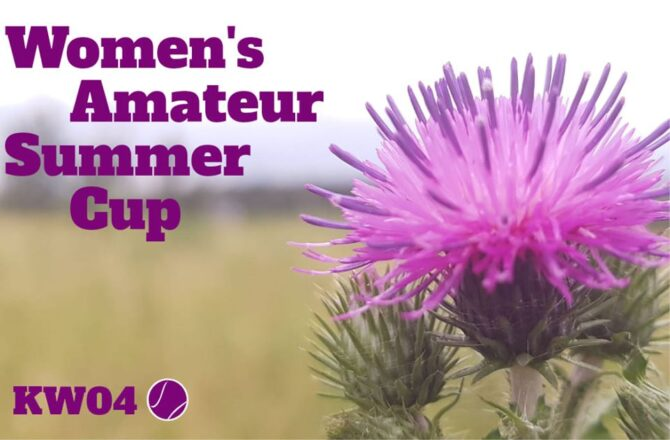 Women's Amateur Summer Cup KW04