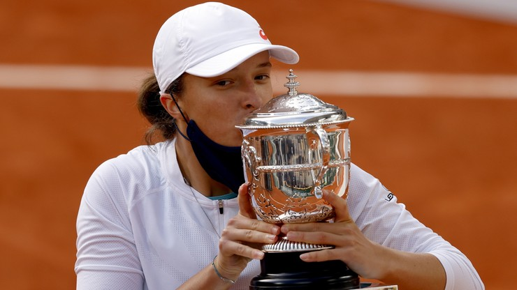 Iga Świątek wygrywa Roland Garros